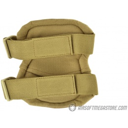 Airsoft Megastore Armory Tactical X-Shaped Knee / Elbow Pad Set - TAN