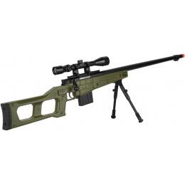 WellFire MB4409 MK96 Covert Bolt Action Airsoft Sniper Rifle - OD GREEN