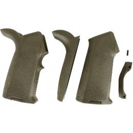 Magpul PTS Airsoft Complete MIAD M4 / M16 AEG Pistol Grip Kit - OD