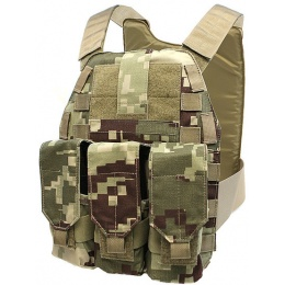 LBX Tactical MOLLE Assault Plate Carrier - PROJECT HONOR CAMO