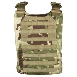 LBX Tactical MOLLE Speed Draw Plate Carrier - PROJECT HONOR CAMO