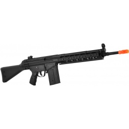 JG T3-K1 RAS Full Metal Gearbox Airsoft RIS AEG Rifle - BLACK