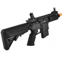 Golden Eagle M4 Stubby Killer RIS CQB Airsoft AEG Rifle - BLACK