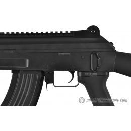 Golden Eagle AK47 CQB Beta Spetsnaz Airsoft AEG Rifle w/ Full Stock