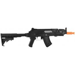 Golden Eagle AK74 CQB Beta Spetsnaz Airsoft AEG Rifle w/ LE Stock