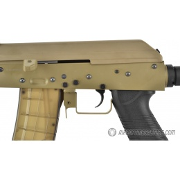 Golden Eagle Full Metal Tactical AK74 RIS Airsoft AEG Rifle - TAN