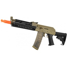 Golden Eagle Full Metal Beta AK-74 AEG Tactical Airsoft Gun - TAN