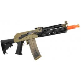 Golden Eagle Full Metal Beta AK-74 AEG Tactical Airsoft Gun - TAN