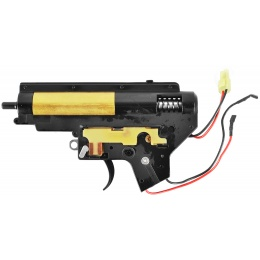 SHS 7mm Metal Version 2 M4 AEG Rear Wired Airsoft Complete Gearbox