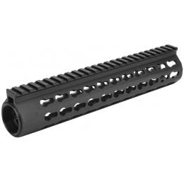 SHS Airsoft Aluminum URX4 10inch RIS M4 AEG - BLACK