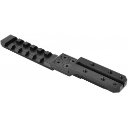 SHS PPS Full Metal Extended AK Rear Sight Rail Mount Kit