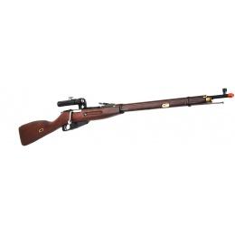 Red Fire PPS Mosin-Nagant 1891 Airsoft Gas Sniper Rifle w/ PU Scope