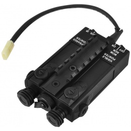 Golden Eagle PEQ2 Airsoft RIS Battery Box w/ 10.8V Battery Pack