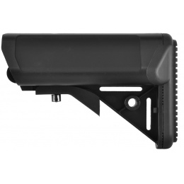 Golden Eagle M4 Airsoft Retractable Crane Stock w/ Cheek Pad - BLACK