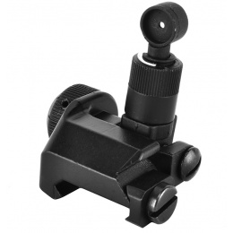 Golden Eagle Airsoft SR25 / M4 / M16 Flip-Up 600M Rear Iron Sight