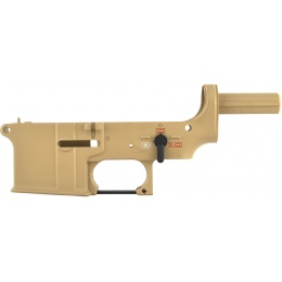 Golden Eagle Airsoft M4 / M16 AEG Polymer Lower Receiver - TAN