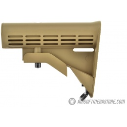 Golden Eagle Retractable M4 Airsoft LE Stock w/ Sling Mount - TAN