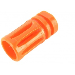 Golden Eagle Airsoft M4 Orange Safety Tip Bird Cage Flash Hider