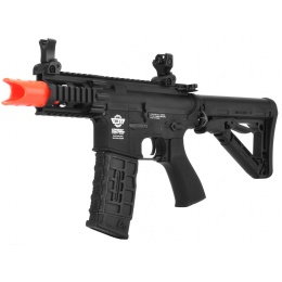 G&G Combat Machine FireHawk FHK M4 Stubby Airsoft AEG Rifle - BLACK