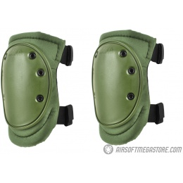 ALTA AltaFLEX Tactical Cordura Nylon Knee Pads - OLIVE GREEN