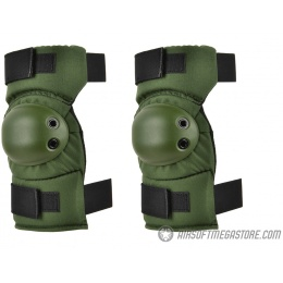 ALTA AltaCONTOUR Tactical Cordura Nylon Elbow Pads - OLIVE GREEN