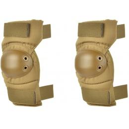 ALTA AltaCONTOUR Tactical Cordura Nylon Elbow Pads - COYOTE TAN