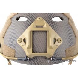 Spartan Head Gear PJ Type Airsoft Helmet w/ NVG Shroud - NAVY SEAL