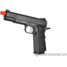 WellFire Metal 1911 Hi-Capa Tactical Gas Blowback Airsoft Pistol