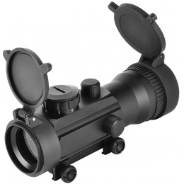 AMA Airsoft 2x42mm Magnified 7-Intensity Full Metal Red Dot Scope