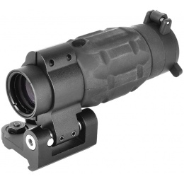 AMA Full Metal 30mm Flip To Side Airsoft Rail Mounted Scope Mount