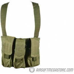 Gryffon Tactical MOLLE Golem Airsoft Chest Rig - OD GREEN