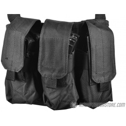 Gryffon Tactical MOLLE Golem Airsoft Chest Rig - BLACK