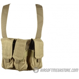 Gryffon Tactical MOLLE Golem Airsoft Chest Rig - TAN