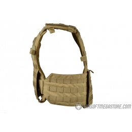 Condor Outdoor Gunner Lightweight MOLLE Tactical Plate Carrier - TAN
