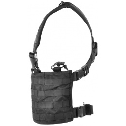 Condor Outdoor MCR4 OPS Tactical MOLLE Chest Rig - BLACK