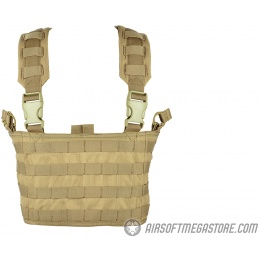 Condor Outdoor MCR4 OPS Tactical MOLLE Chest Rig - TAN