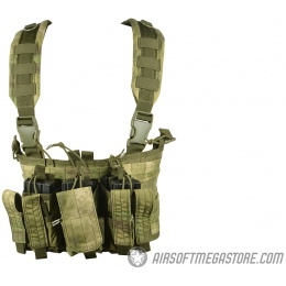 Condor Outdoor Tactical MOLLE MCR5 Recon Chest Rig - A-TACS FG