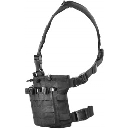 Condor Outdoor MCR6 Rapid Assault Tactical MOLLE Chest Rig - BLACK