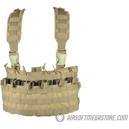 Condor Outdoor MCR6 Rapid Assault Tactical MOLLE Chest Rig - TAN