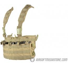 Condor Outdoor MCR6 Rapid Assault Tactical MOLLE Chest Rig - TAN