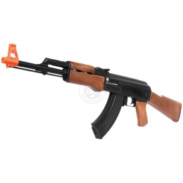 Airsoft Kalashnikov Licensed Full Size AK47 AEG Rifle w/ Full Stock