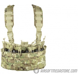 Condor Outdoor MCR6 Rapid Assault Tactical MOLLE Chest Rig - MULTICAM