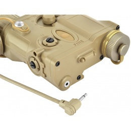 Element AN/PEQ-16A Integrated Pointer/Illuminator (IPIM) Laser - TAN