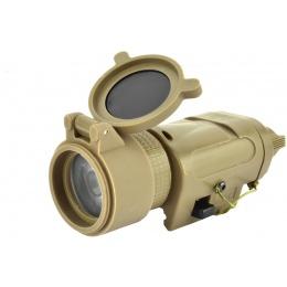 Element Tactical 20mm Rail Mounted Illuminator Short - TAN
