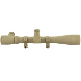 Element 3-10x40E-SF Magnified Side Focus Airsoft Rifle Scope - TAN