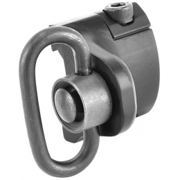 Element Airsoft Low Profile Rail Mounted Hand Stop w/ Sling Swivel