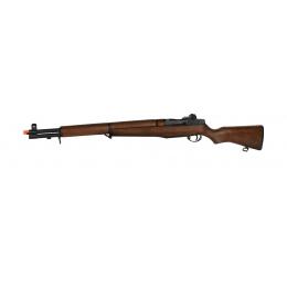 ICS M1 Garand World War II Full Metal Airsoft AEG Rifle - REAL WOOD
