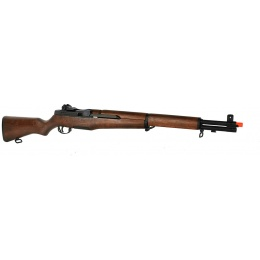 ICS M1 Garand World War II Full Metal Airsoft AEG Rifle - REAL WOOD