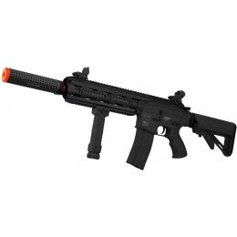ICS CXP-16L Full Metal Airsoft AEG Rifle w/ Barrel Extension - BLACK