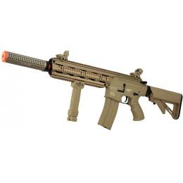 ICS CXP-16L Full Metal Airsoft AEG Rifle w/ Barrel Extension - TAN